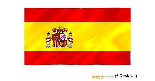 Hogaltia Bandera de España para Exterior | 90x60 cm | Bandera ...