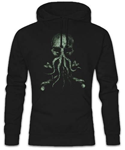 Hoodie Felpe Nero 2xl Con S Cappucio Sizes Backwoods Sweatshirt Bones Cthulhu Hooded Urban w7t4Ix