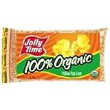 Jolly Time Organic Gluten-free Non-gmo Yellow Popcorn Kernels, 20 Oz. Bag