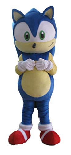 Adult Size Sonic X Hedgehog Mascot Costume Cartoon Costumes for Party Character Design -
