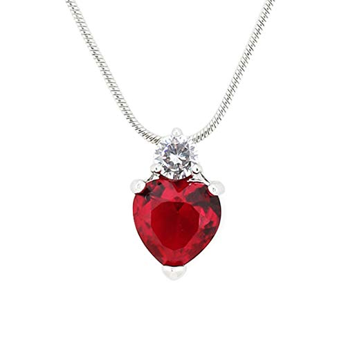 Aaishwarya Heart Pendant with Chains Valentine girts for Women and Girls.