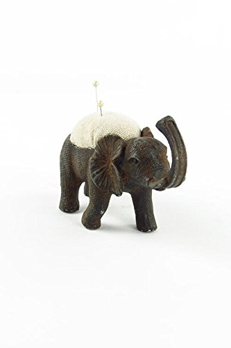 Vagabond Vintage, Pewter Elephant Pin Cushion