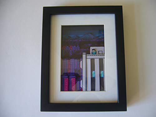Mega Man 2 NES 3D Shadow Box Diorama Art for sale  Delivered anywhere in USA