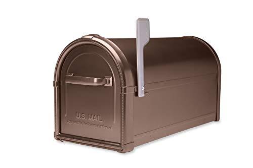 - Architectural Mailboxes 5593C-CG-10 Hillsborough Wallmount Mailbox, Medium, Copper