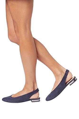 next Mujer Zapatos abiertos con puntera redonda Corte Regular Azul Marino
