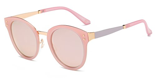 Cramilo Fashion Designer Polarized Round Cateye Sunglasses for - Glasses Face Female For 2016 Round