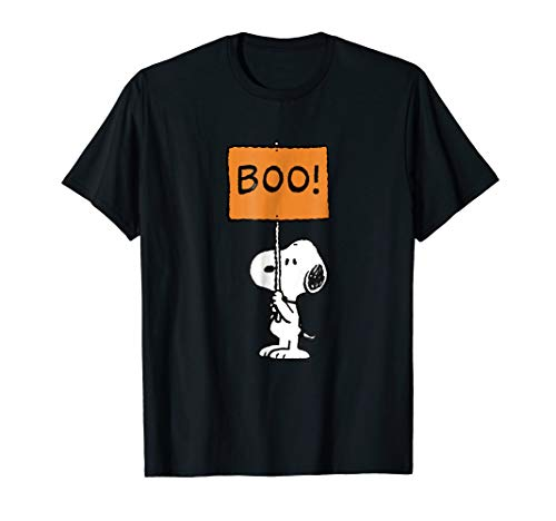 Peanuts Halloween Snoopy Boo! T-Shirt for Adults or Kids