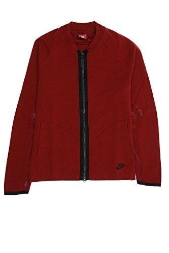 (Nike Full Zip Sweatshirt (Burgundy, XLarge ))
