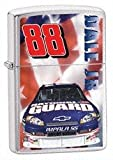 Zippo Lighters 24436 Dale Jr. 88 National Guard Lighter with Brushed Chrome Finish
