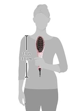 Jocca 6580K - Cepillo Alisador de Cabello, Color Rosa: Amazon.es: Salud y cuidado personal