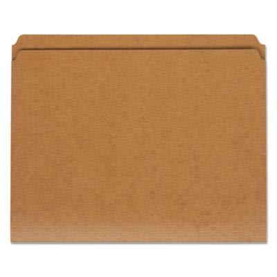 Universal 16130 - Kraft File Folders, Straight Cut, Top Tab, Letter, Brown, 100/Box