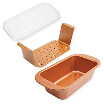Amazon Com New As Seen On Tv Copper Chef Perfect Loaf