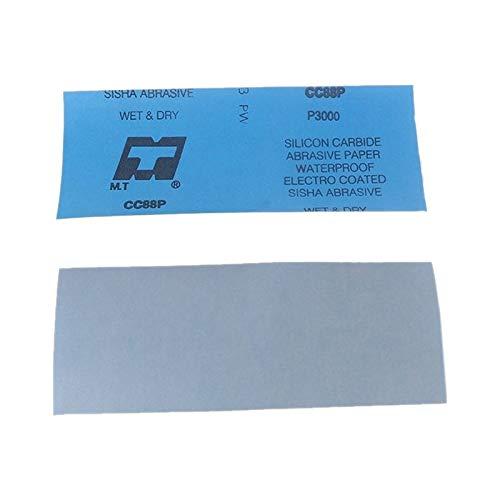 Polishing Tool Blue JHMJHM Hand Tools Abrasive Tool 100 PCS Grit 4000 Wet And Dry Polishing Grinding Sandpaper,Size: 23 x 9cm Color : Blue
