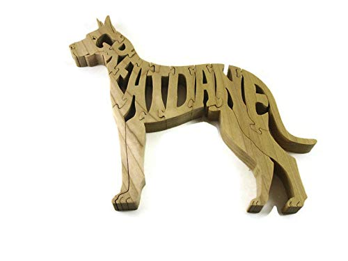 Great Dane Wood Jigsaw Puzzle