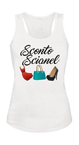 Canotta donna Sconto Scianel