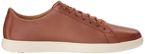 Cole Haan Mens Grande Incrociato Ii Sneaker In Pelle Marrone Brunito