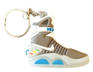Nike Air Mag Back to the Future 2D Flat Sneaker Keychain by SPUSA
