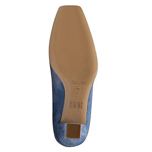 Evita Shoes - Zapatos de vestir de Piel para mujer Azul - azul