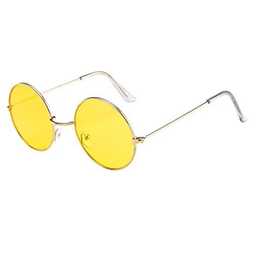 Sol Sol G Gafas de de Gafas E de de Unisex con Hunpta Sol Círculos Marco y Gafas vxAawwd