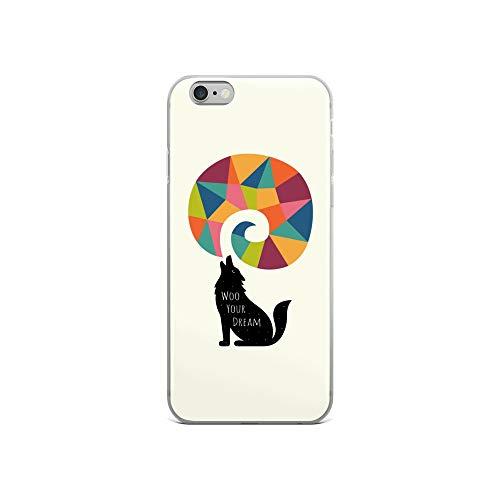 iPhone 6/6s Case Anti-Scratch Creature Animal Transparent Cases