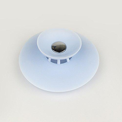 Silicone Scarico a Pavimento per lavello da Bagno cucine GHONLZIN Tappo per Vasca da Bagno