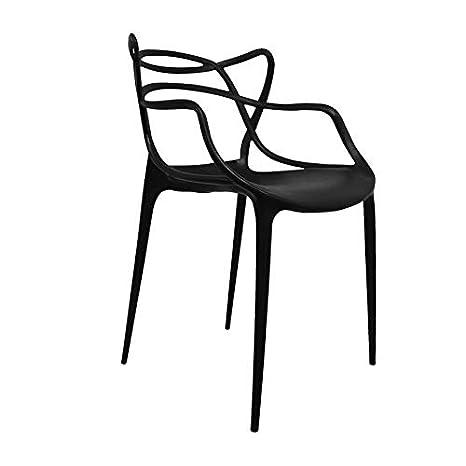 Regalos Miguel - Sillas Comedor - Silla Korme - Negro