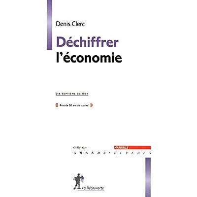 Déchiffrer l'économie