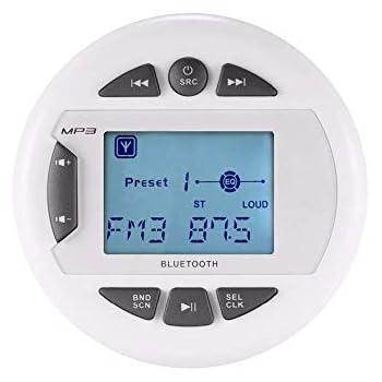 Amazon com: BOSS Audio MGR350B Marine Gauge Receiver - Bluetooth
