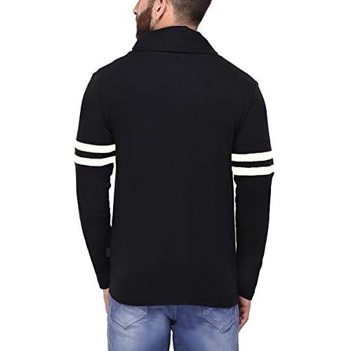 31rQpusA7AL. SS500  - DENIMHOLIC Men's Cotton Open Long Cardigan
