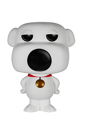 (Funko POP TV: Family Guy Brian Action Figure)