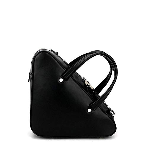 Cowhide Bag Female Leather Hongge B Shoulder Baotan Package Diagonal Triangle Bag Geometry tASxOqxwZ