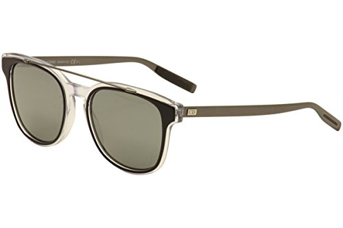 Christian Dior Black Tie 211/S Sunglasses Black Crystal Ruthenium / Black - Dior Cd Christian