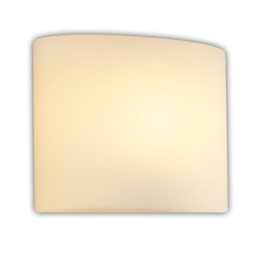Justice Design Group Lighting Fab-8931-30-Crem-Nckl Textile-Modular 1-Light Wall Sconce-Oval Shade-Cream, Brushed Nickel