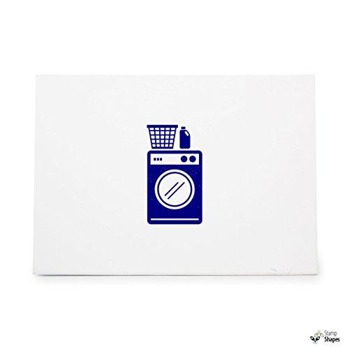 Washing Machine Detergent Hamper Laundry, Rubber Stamp Shape
