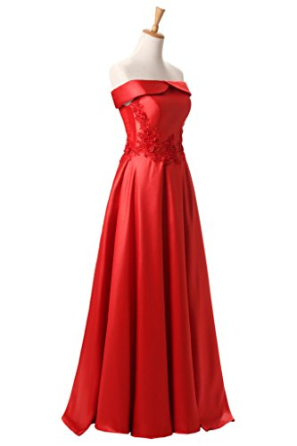 Formal Red Lace Party Empire up Avril Bateau Dress Long Gown Dress Weddng Gorgeous x7qqBFwY