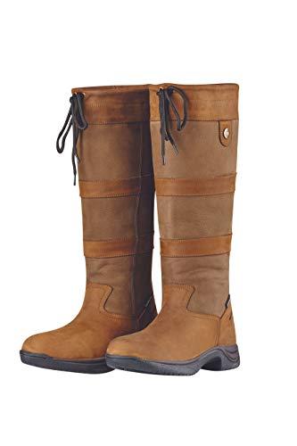 Dublin River Boots III Dark Brown Ladies 9.5 XWide (Three Shops Dublin)
