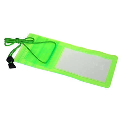 Price comparison product image Sonmer Swimming Waterproof Bag Case Cover For 5.5'' Cell Phone (Green)