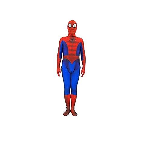 werty Spiderman Rojo Negro Traje De Hombre Araña Cosplay ...