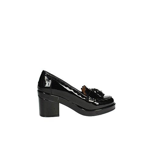 Mariamare 61947 Moccassin with Heel Women Black UYcvfIY