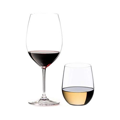 Riedel 16-Piece Vinum Bordeaux and O Viognier Glassware Set (Set of - Franc Fruit Cabernet Merlot