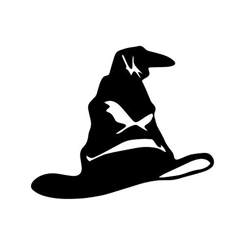 Bargain Max Decals Sort Hat Silhouette Decal Notebook Car Laptop 5.5