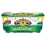 Land O Lakes Pure and Creamy Margarine, 15 Ounce -- 12 per case.