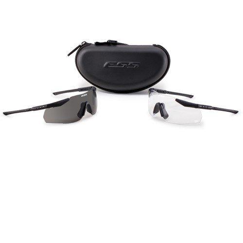 ESS Eyewear Ice 2X NARO Eyeshield Kit, Black