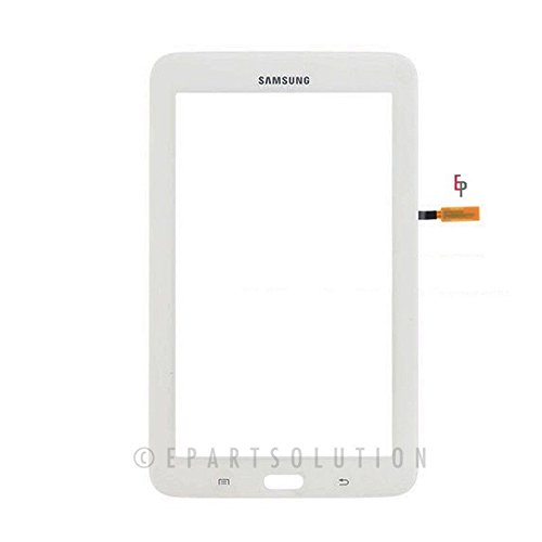 ePartSolution-Samsung Galaxy Tab 3 Lite SM-T110 7.0 Wifi Ver. Lens Touch Screen Digitizer Glass White (Touch Screen For Tab 3)