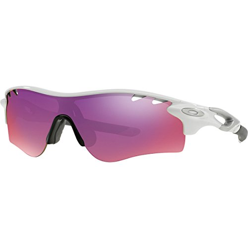 Oakley Men's Radarlock Path OO9181-40 Shield Sunglasses, Polished Black, 132 - Path Prizm Radarlock