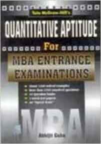 PDF MBA QUANTITATIVE EXAMS ABHIJIT GUHA ENTRANCE BY APTITUDE FOR