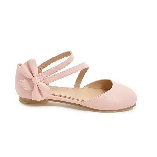AN Womens Cold Lining Dress Huarache Urethane Sandals DIU00913 Pink v8ftW