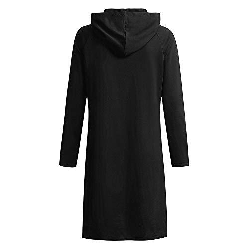Ample Blouson À Molletonnés sweat Capuche Coupe Pulls Cuir Femme Noir Manteau Mince tYFwxqdd