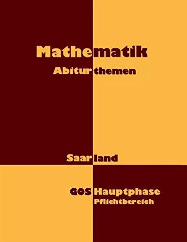 Mathematik: Abiturthemen
