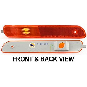 (SATURN S-SERIES 00-02 FRONT SIDE MARKER LAMP RH, Lens and Housing)